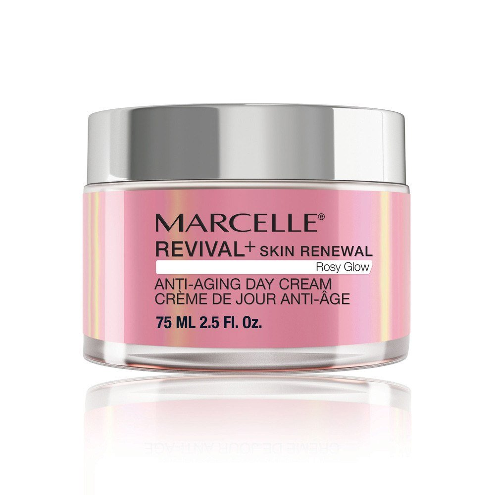Revival+ Skin Renewal Rosy Glow Anti-Aging Day Cream - All Skin Types