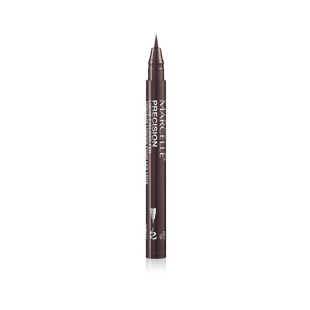 Precision Liquid Eyeliner Pen - Deep Brown