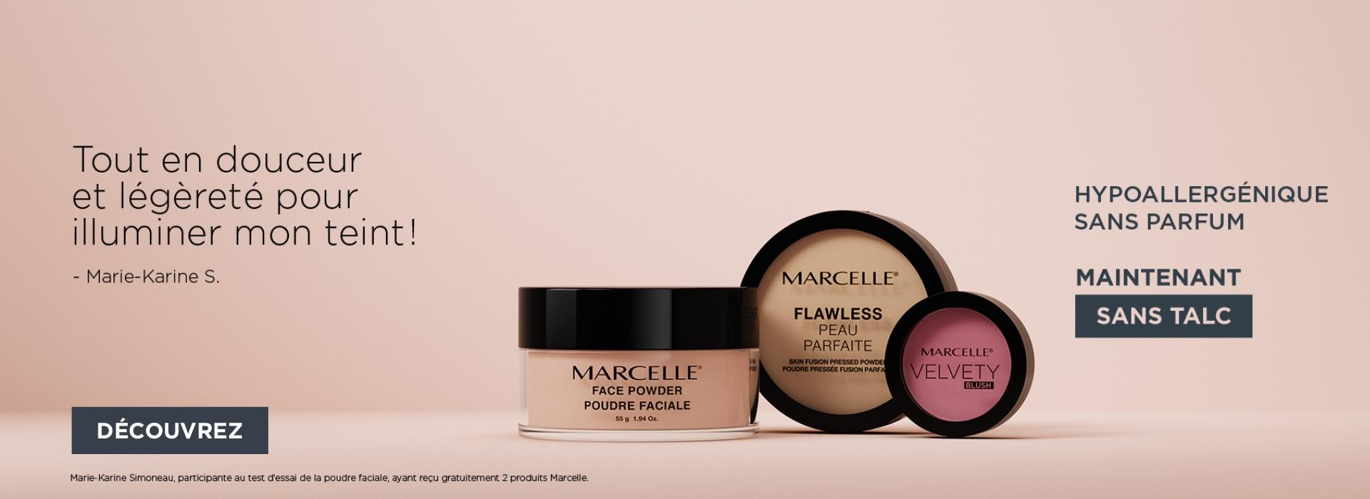 maquillage sans talc