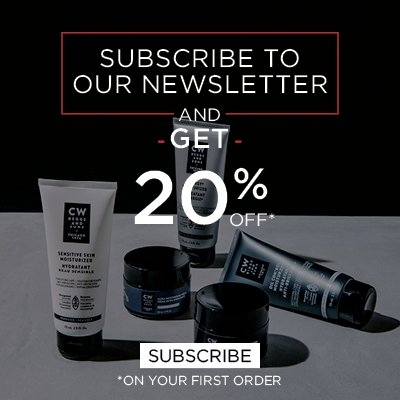 20% off your first order with newsletter subcription