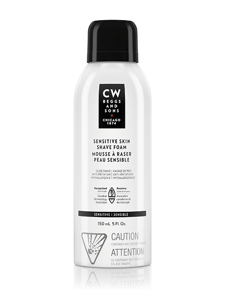 sensitive skin shave foam