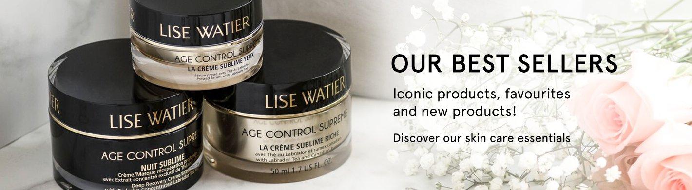 Lise Watier skin care bestsellers